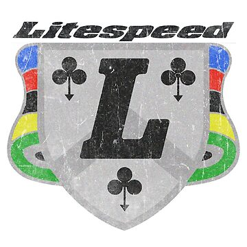 Litespeed Bicycles Badge DISTRESSED by JackCinq