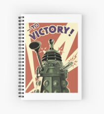 Dalek Spiral Notebook