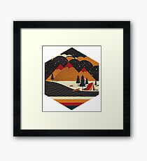 ONE PEACEFUL NIGHT Framed Print