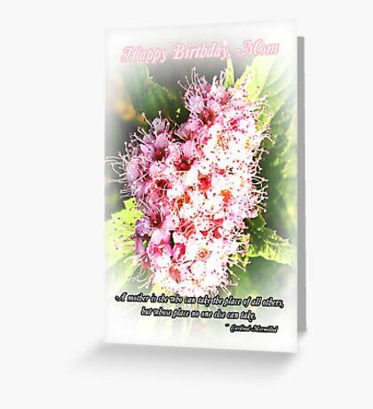 Mom Birthday Greeting Card