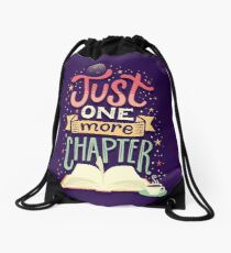 One more chapter Drawstring Bag