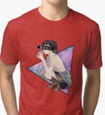 STOLEN - Sad Japanese Aesthetic  Tri-blend T-Shirt
