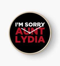 I'm sorry Aunt Lydia Clock