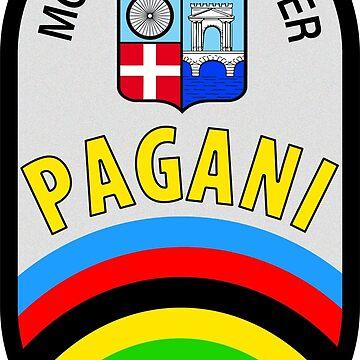 Pagani Meccanico Cicli Corsa DISTRESSED by JackCinq