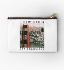 I left my heart in San Francisco Studio Pouch