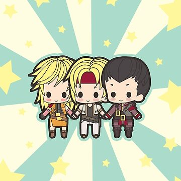Star Ocean Family! by kingcael