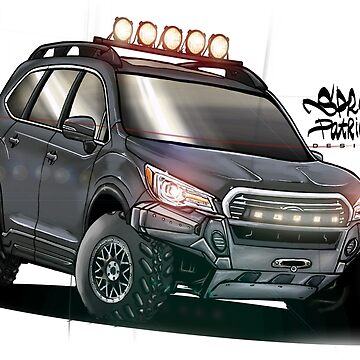 Offroad Subaru Ascent 2019 by SprayPatrick