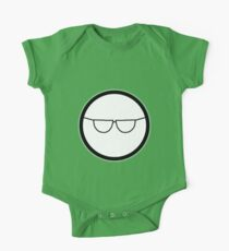 Cartoon Face 1 - Bloke with specs [Big] One Piece - Short Sleeve