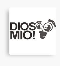 Dios Mio saying spanish Metal Print