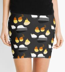 Bear Paw Print International Bear Brotherhood Flag  Mini Skirt