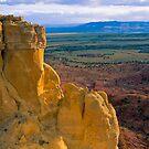 Chimney Rock at Ghost Ranch (Medium Format Film Version) by Mitchell Tillison