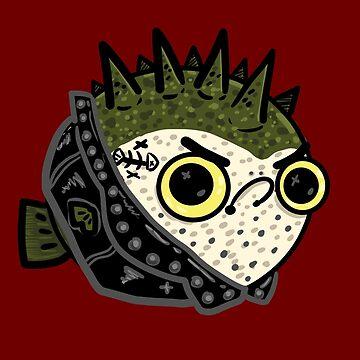 Punker Fish by fluffymafi