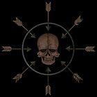 Schädel und Pfeile von dracuria