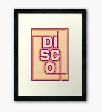 Disco Framed Print
