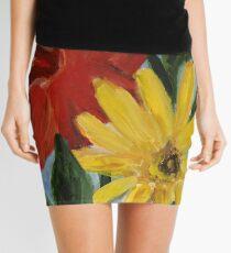 Summer Flowers Mini Skirt