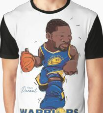 Kevin Durant - Golden State Warriors Graphic T-Shirt