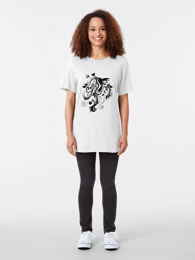 Alternate view of Spiral Bliss Tee Slim Fit T-Shirt