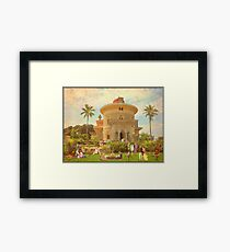 Summer of 1934 in Monserrate (Sintra - Portugal) Framed Print