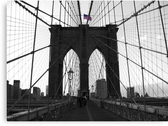 Bridge over troubled water (B&W) by Jeanne Horak-Druiff