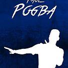 «Paul Pogba - Francia - PSG - Fútbol - Campeones de la Copa Mundial 2018 - Champions Du Monde - Poster - Imprimir» de Conor Crosbie