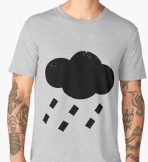 Rain Cloud Sign Men's Premium T-Shirt