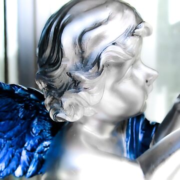 SILVER AND BLUE ANGEL by kimmilesfilms