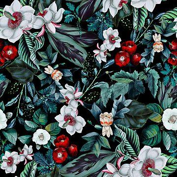 Midnight Garden V by burcukyurek