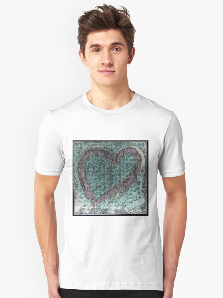 Despair Inverted with Ink Outlines Unisex T-Shirt Front