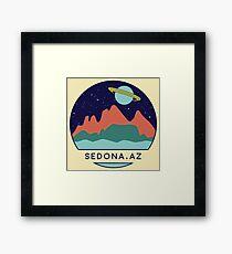 Sedona Arizona Nature Space Framed Print