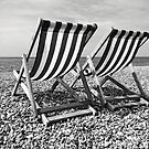 Brighton Beach by Ludwig Wagner