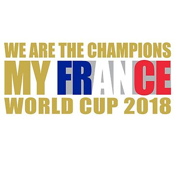 WORLD CUP 2018 #FRANCE by artpopop