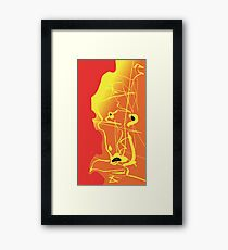 the Confused Ouch  Framed Print