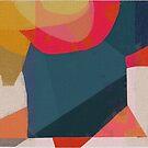 Composition in red tones by Nikolay Semyonov