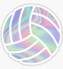 Iridescent Volley Ball Sticker