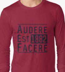 Audere Est Facere Long Sleeve T-Shirt
