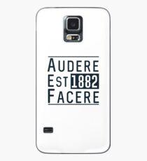 Audere Est Facere Case/Skin for Samsung Galaxy