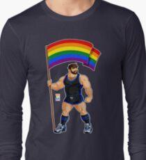 ADAM LIKES PRIDE FLAG - BLACK OUTFIT Long Sleeve T-Shirt