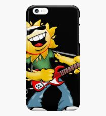 Guitar Jammin' Sun Cartoon iPhone 6s Plus Case