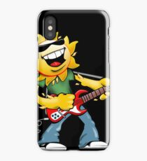 Guitar Jammin' Sun Cartoon iPhone Case