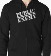 Public Enemy Zipped Hoodie