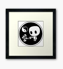 Yin Yang Bonsai Framed Print