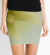 Alcea rosea 'Halo White' Hollyhock Halo Series Mini Skirt