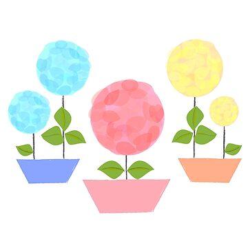 BABY FLOWERS by bernavue