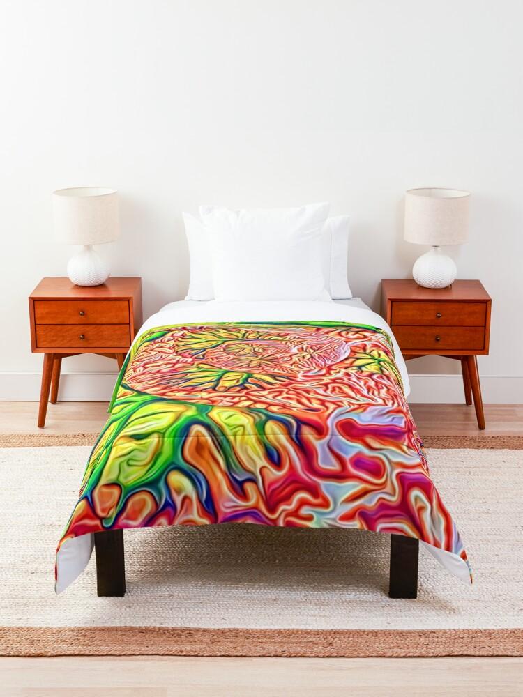 Alternate view of interesting... Comforter