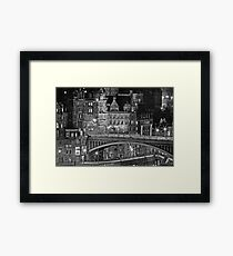 The Old Town Edinburgh Framed Print