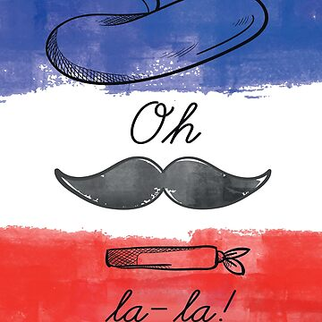 France Oh La La  by iwaygifts