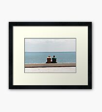 Couple (analogue) Framed Print