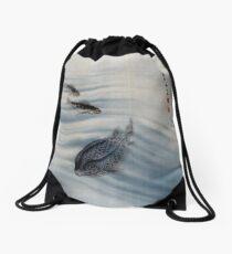 Seki Shūkō Fishes Drawstring Bag