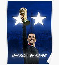 Póster Antoine Griezmann - Francia - Campeones de la Copa Mundial 2018 - Champions Du Monde