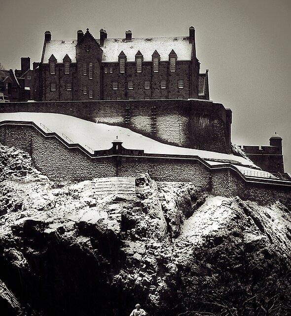 Edinburgh Castle February 2009 by Chris Clark